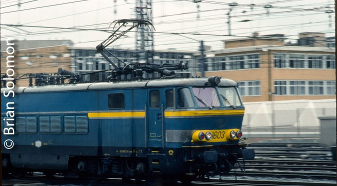 SNCB at Brussels Midi 22 Years Ago!