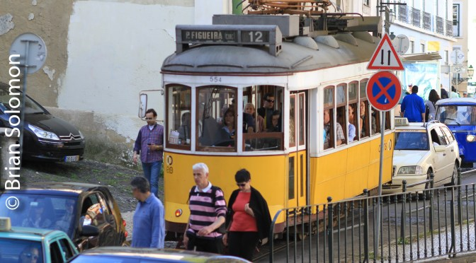 Europe's Most Photogenic Urban Railway? Five Photos—Lisbon Trams.