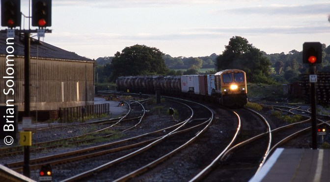 Irish Rail 214: Two Sunrise Views, Dublin and Mallow.