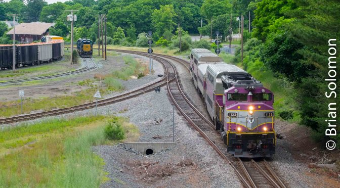 Memory and MBTA at Middleborough.