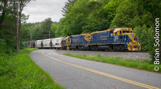 More New England Central GP38s-Four Photos!