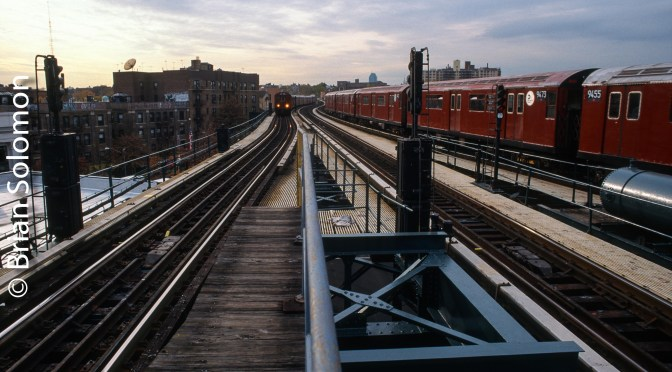 New York City's Flushing Line November 1998.