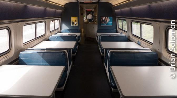 Amtrak 157—Four Photos.