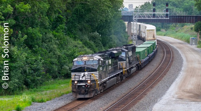 Documenting the Common: Norfolk Southern Double-stacks at CP485.