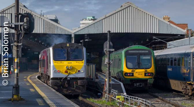 Colourful Sunday at Connolly.