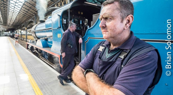 Steam Portraits-Faces of the Footplate.