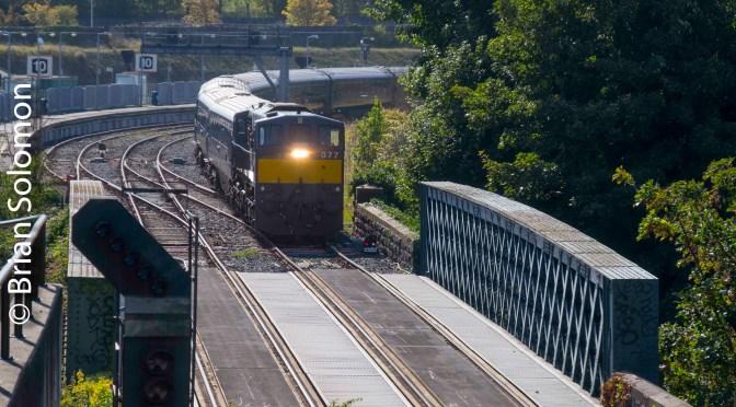 Irish Rail 077 with Belmond; Three Days—Harsh Light, Soft Light and an ICR.