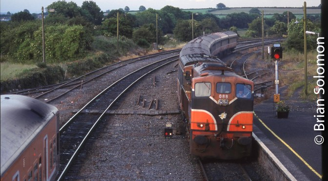 Irish Rail at Portarlington, Then and Now Views: Deja Vu all over again.