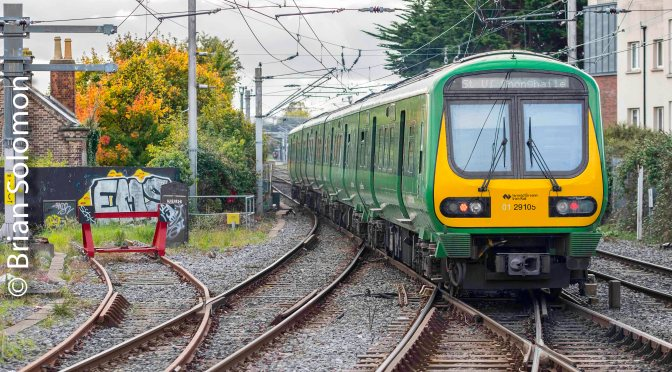 Variety and Colour at Howth Junction in Eight Views—October 2018.