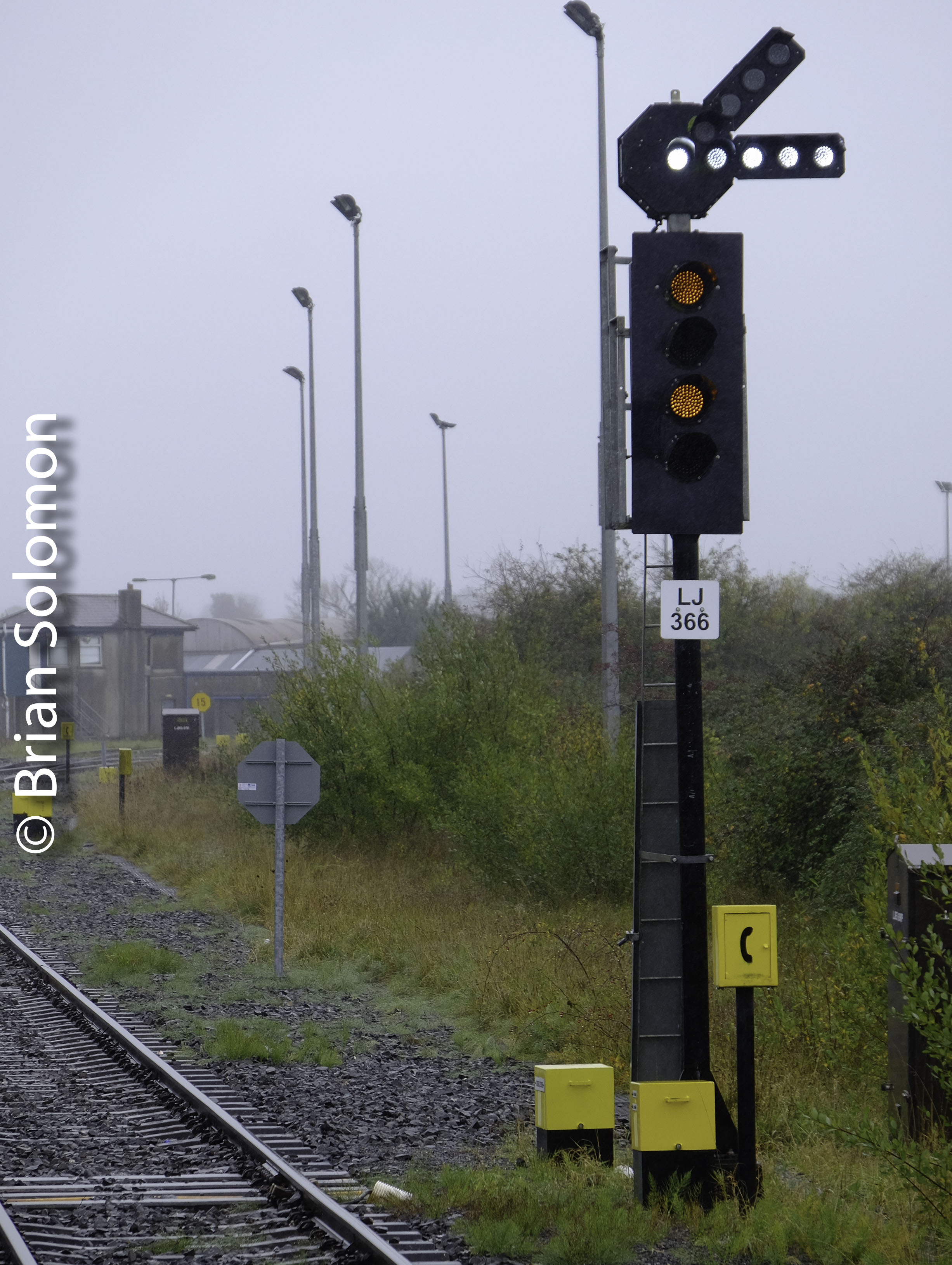 Limerick Junction Photographing Led Signals Tracking