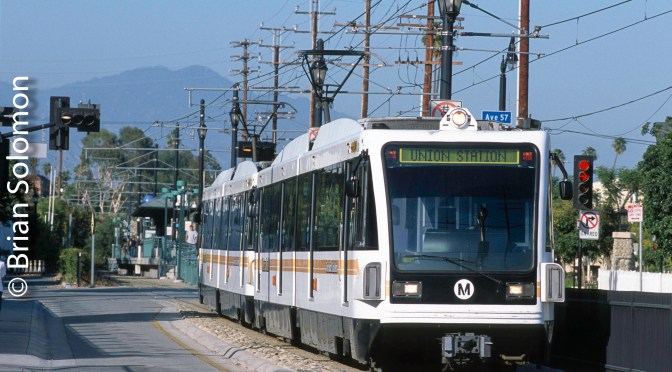 Los Angeles Gold Line—June 2008.