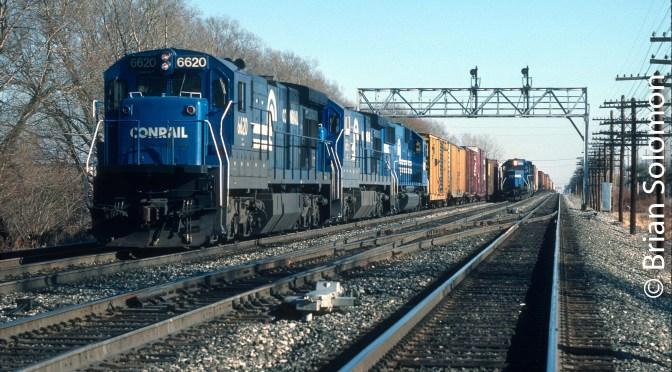 Frontier Yard, Buffalo, December 3, 1988.