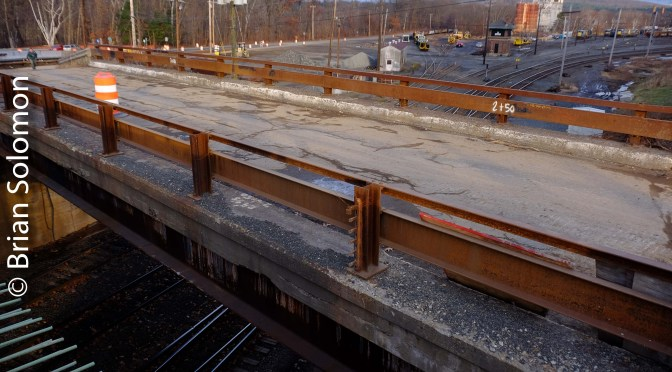 East Deerfield Railfan's Bridge Update: Views from the New Bridge.