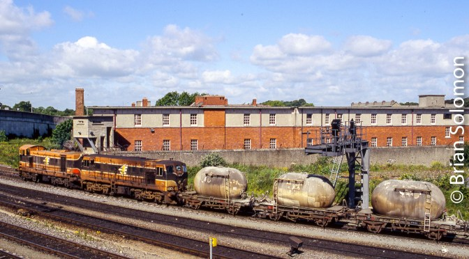 Irish Rail Four-Wheel Cement—May 2005.