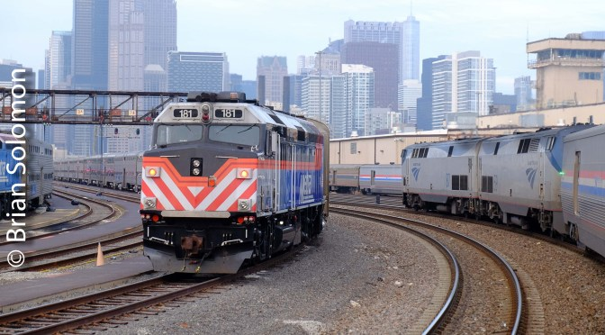 Chicago Metra in Transition—November 2018