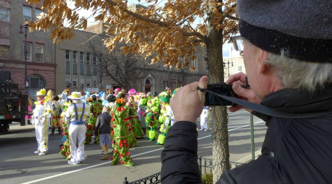 Philadelphia's Mummers Parade—New Years Day 2019.