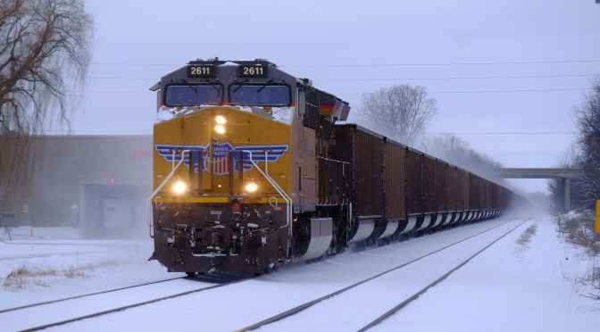 And Which Railroad is This? UP on CP: Freight at Duplainville—Part 2.