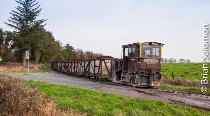 Lanesborough in Colour—more Bord na Mona narrow gauge.