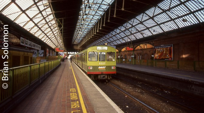 Dublin's Pearse Station, Spring 1998.