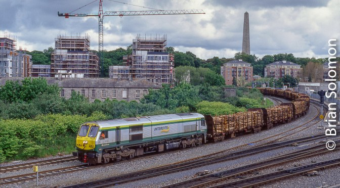 Irish Rail's Sligo Timber at Islandbridge.