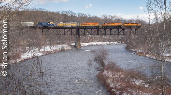 Vintage Chrome: Millers Falls High Bridge—Then and Now.