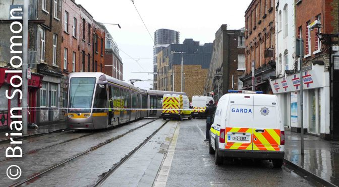 Tracking the Light EXTRA: Bus-Tram Collision in Dublin 16 March 2019.