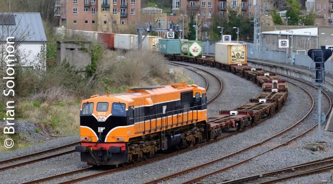 Irish Rail 071s at Islandbridge Junction—Two Photos on 14 March 2019.