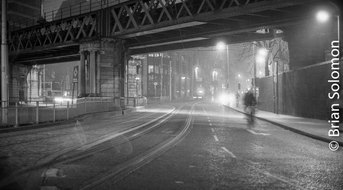 Dublin at Night: Fomapan Classic 100.