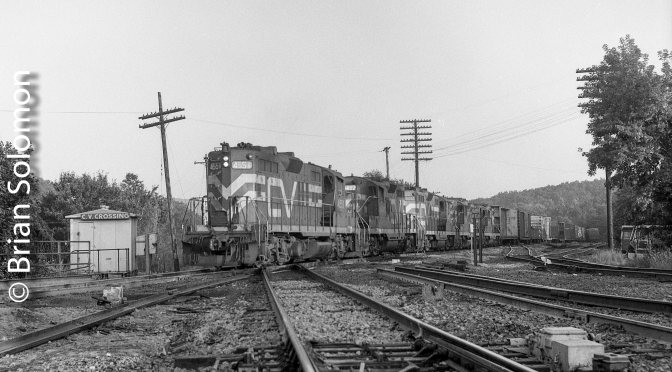 Central Vermont at Palmer, Massachusetts—July 1986.