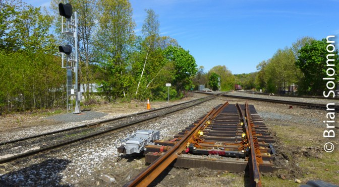 Palmer, Massachusetts—Track Changes soon! (Four views on Tracking the Light)