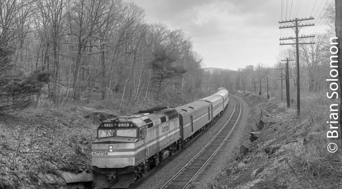 Amtrak's Lake Shore Limited in the 1980s.