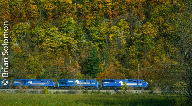 Conrail BUOI at West Cameron, New York.