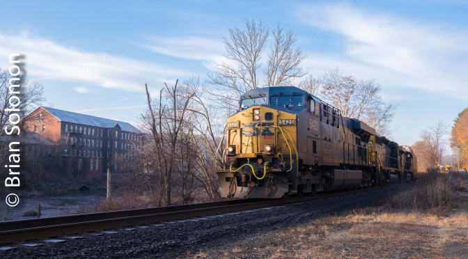 On the Roll with CSX's Q264—Five Photos.