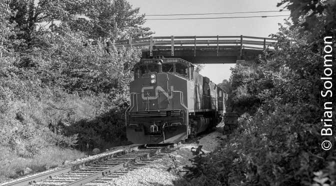 State Line Hill: Another 'Ugly' Alco and a Caboose!—Three photos.