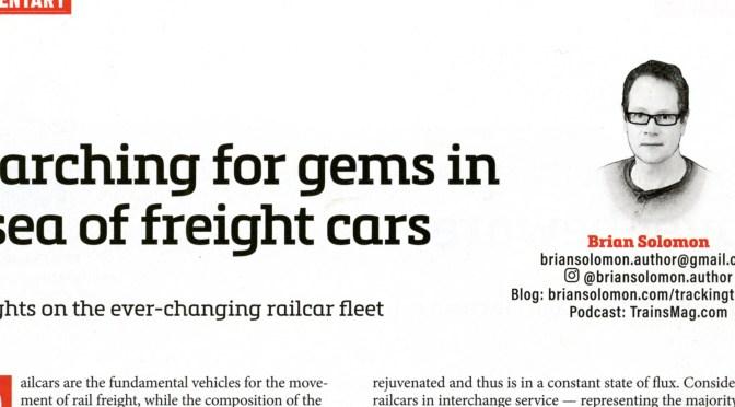 February 2020 Trains Magazine.