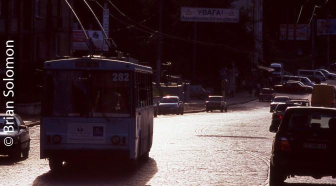 Ukrainian Trolley Bus