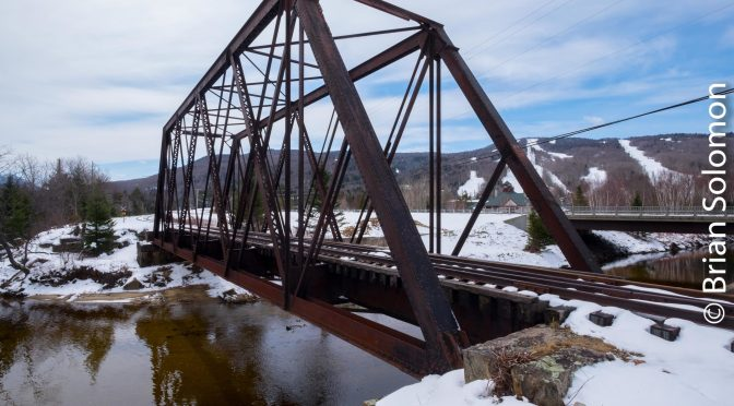 Truss Bridge at Fabyan, New Hampshire.