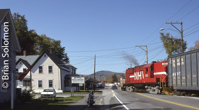 New Hampshire & Vermont Alco RS-11 at Whitefield.