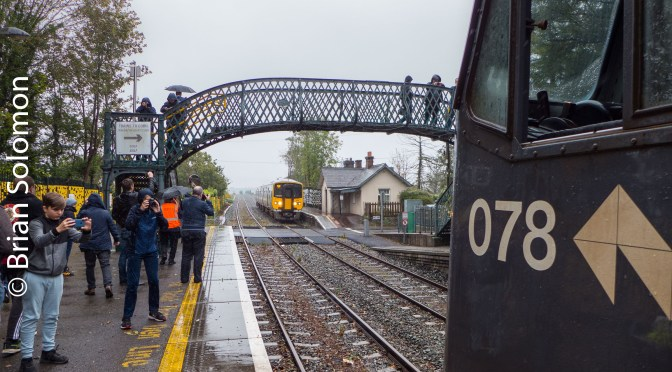 Irish Rail 078 at Fota—OCTOBER 2019.