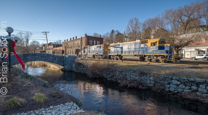 December 10, 2018—New England Central at Stafford Springs