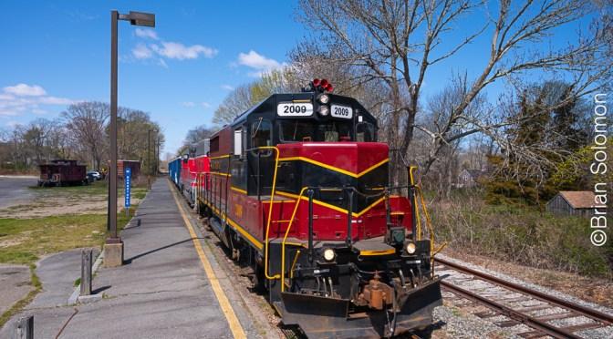 Ballast Train at West Barnstable, Massachusetts