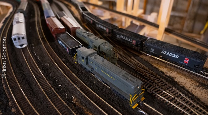 My HO-scale Reading Company—April 2021 Update.