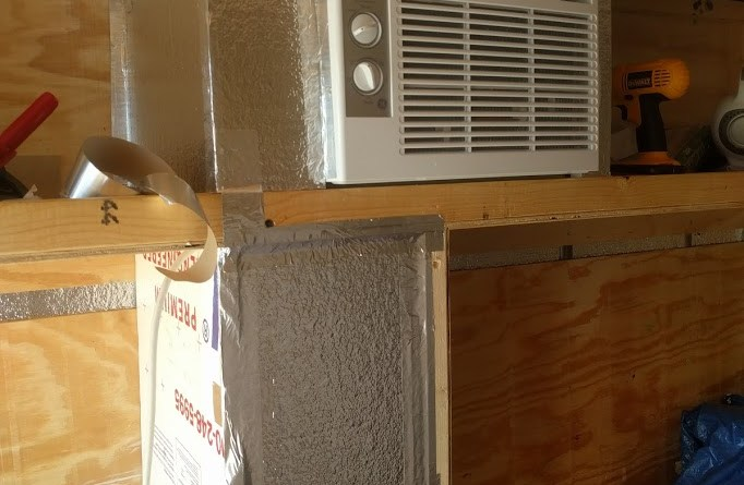 Cargo Trailer Conversion Ac Install Brian S Road Trip