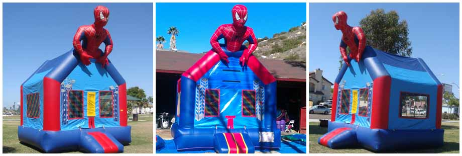Kids Bounce House Rentals  Brians Jumper Service San Diego