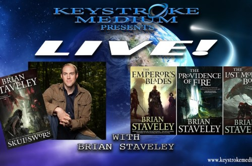 LIVE! with Brian Staveley at Keystroke Medium