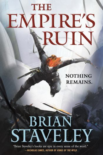 The Empire's Ruin: Book One, Ashes of the Unhewn Throne