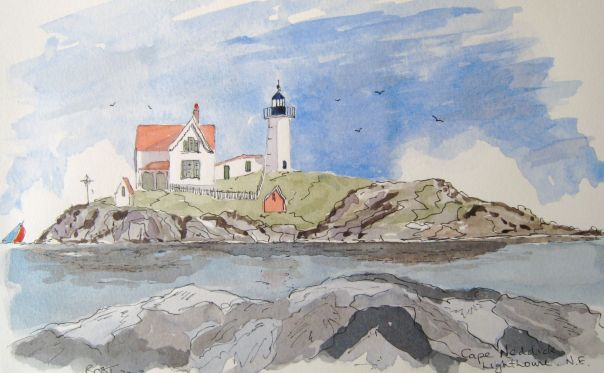 The Nubble Lighthouse - New England