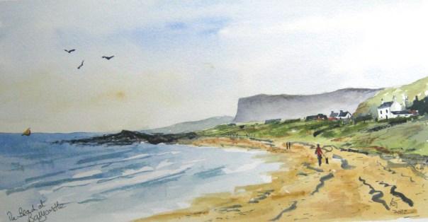 The beach at Ballycastle
