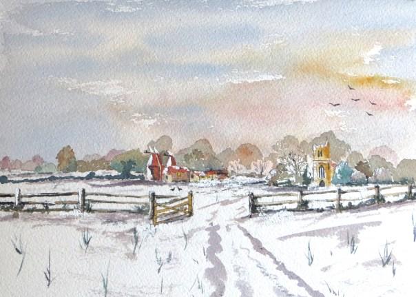 Horsmonden in Kent