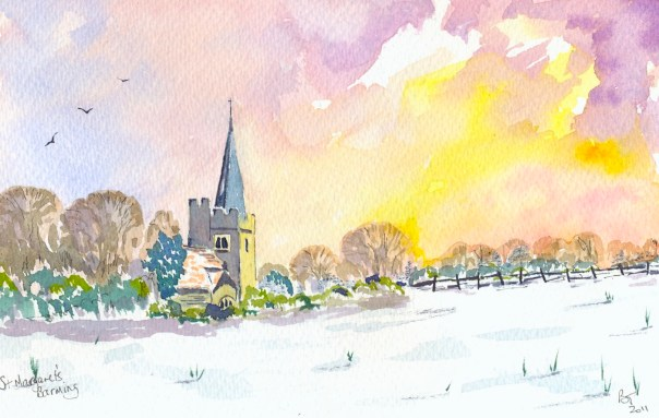 St Margaret's Church at Barming in Kent